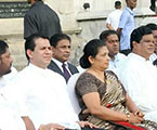 MP R. Dumindha Silva Joined The Conclusion Of A Cultural Procession Of The Commonwealth